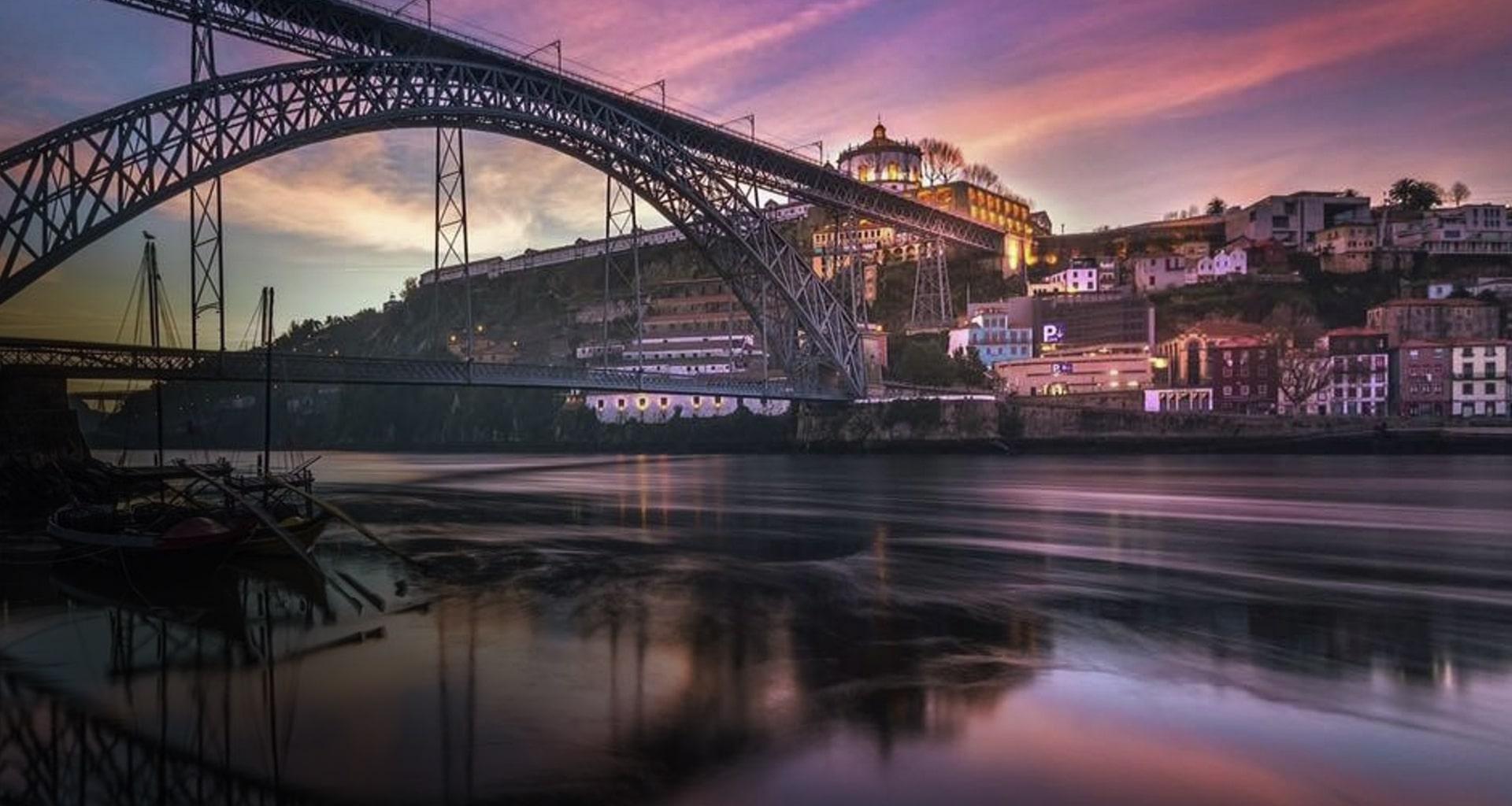 Ponte D Luís, no Porto, próximo da TKW Cargo